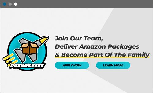 package jet website screenshot